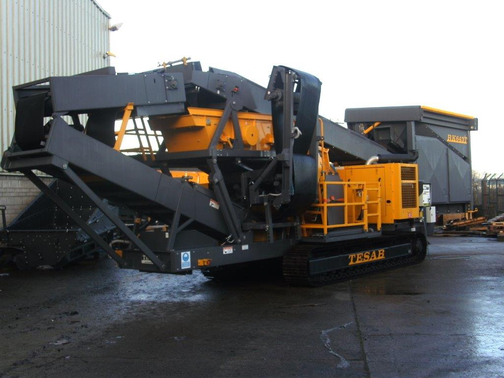 Tesab 643S Wheeled Impact Crusher